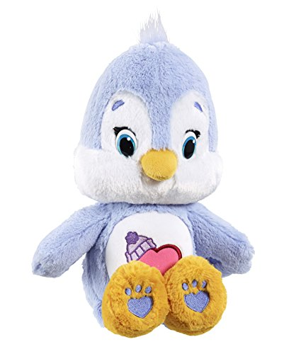 Image of Vivid Imaginations Care Bears Cousins Cozy Heart Penguin Plush Toy with DVD (Medium, Multi-Colour)