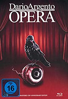Dario Argentos Opera - 4-Disc Restored 30th Anniversery Edition limitiert auf 150 Stück - Mediabook, Cover D (+ 2 DVDs) [Blu-r
