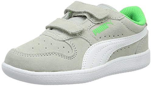 Puma Icra Trainer Sd V Ps, Sneakers Basses Mixte Enfant Gris (Gray Violet-puma White 15)