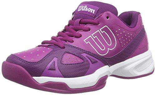 WilsonRUSH OPEN 2.0 W - Scarpe da Tennis Donna , Multicolore (Mehrfarbig (AZALEE PINK/DARK PLUMBERRY/WHITE)), 40 1/3