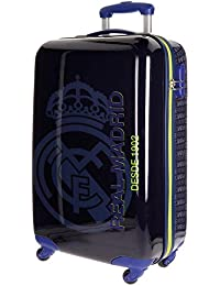 Real Madrid 1902 Equipaje Infantil, 55 cm, 33 Litros, Azul
