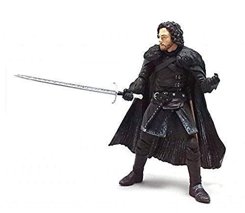 Funko 3908 Game of Thrones Toy - Jon Snow Deluxe Collectable Action Figure - Knights Watch 8