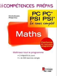 Maths 2e année PC PC* - PSI PSI*