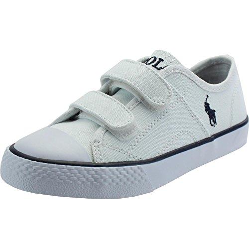 Polo Ralph Lauren Dyland EZ C White Textile 30 EU (Polo Ralph Lauren Sneaker Kinder)
