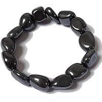 Tumblestone Hematite Bracelet - Yoga - Plus Free Gift Bag preisvergleich bei billige-tabletten.eu