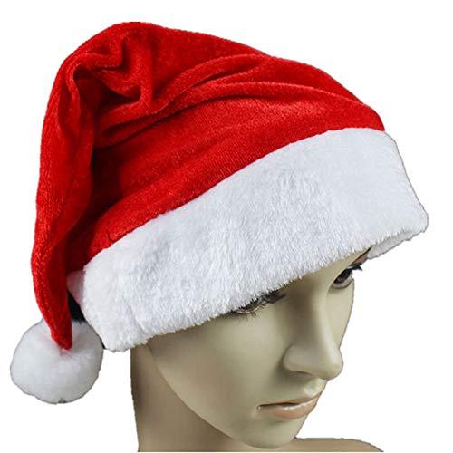 Alptraum Vor Weihnachten Outdoor Dekorationen - SEGRJ Klassische Unisex Weihnachtsmütze, sehr weich,