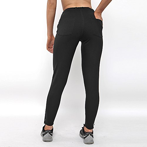 Gymheadz Damen Leggings Schwarz