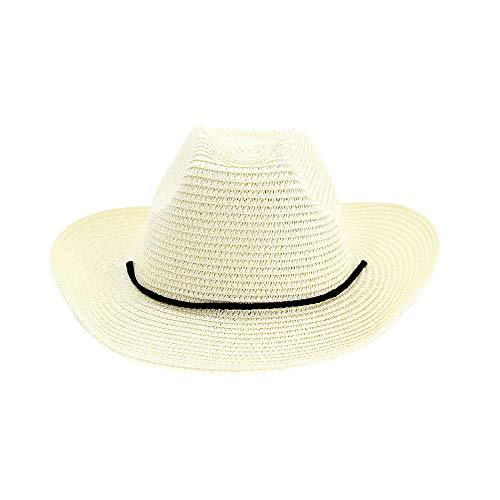 youjiu Cowboyhut, männliches Visier, Outdoor-Strandhut, weiblich @ Milky White_One - Mafia Männliche Kostüm