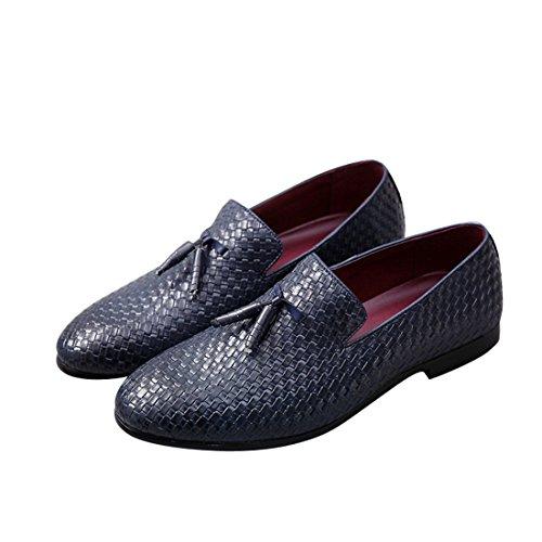 Scarpa uomo in pelle, mocassini uomo, scarpa per affari elegante punta di piedi oxfords comfort pelle sintetica vestito scarpe stivali martin british style pelle casual classico