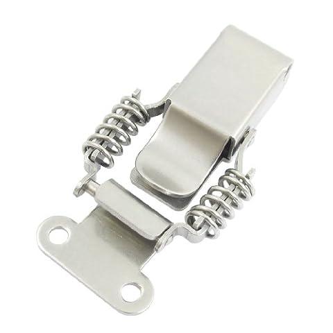 Fixations 9,4cm de compression à ressort en acier inoxydable bascule