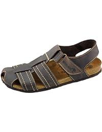 fe080f1a79c Amazon.es  Piel - Sandalias y chanclas   Zapatos para hombre ...