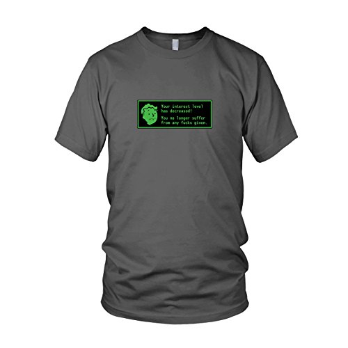 Radioactive Interest Level - Herren T-Shirt, Größe: XXL, Farbe: (Kostüm 3 Fallout)