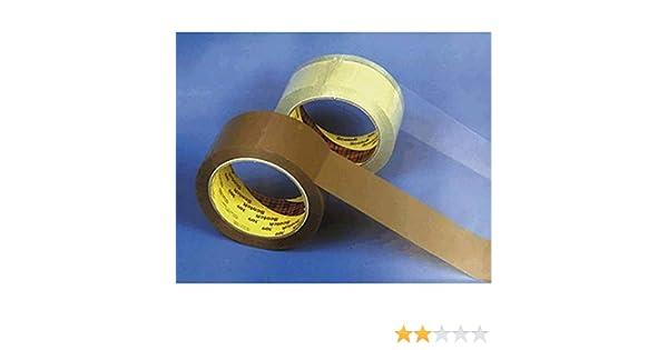 PPL et papier emballage ruban transparent 50/mm x 66/m Scotch emballage 309t5066/rubans PVC