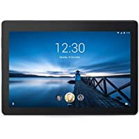 "Lenovo Tab E10 Tablet - 10.1"" HD Display, Android Oreo OS, Qualcomm Quad-Core Processor –Black"