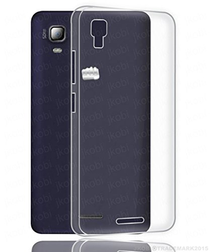 Exclusive Soft Silicone TPU Jelly Transparent Crystal Clear Case Soft Back Case Cover For Micromax Canvas Doodle 3 A102  available at amazon for Rs.145