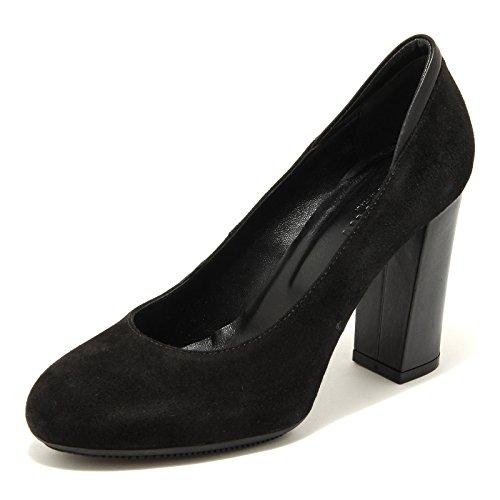 66997 decollete HOGAN H189 nero scarpa donna shoes women Nero