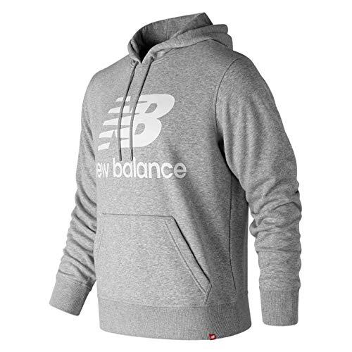 Balance Hoody (New Balance Herren Mt91547 Kapuzenpullover, Grau - Athletic Grey, XL)