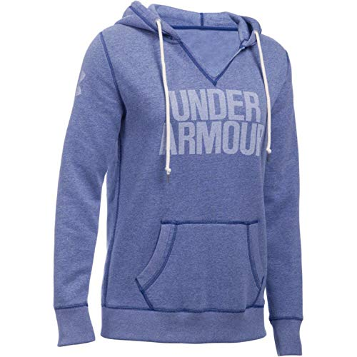 Under Armour Damen Fitness Sweatshirt Favorite Fleece Hoodie, Heron, S Heatgear Hood