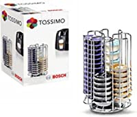 Tassimo 52 Pod T-disc Capsule Holder Tower Dispenser
