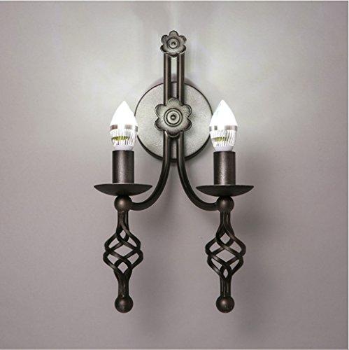Broncos lampada da parete di ferro Candeliere