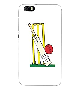 HUAWEI HONOR 4X BAT BALL Designer Back Cover Case By PRINTSWAG