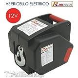 RIBITECH - TrAdE shop Traesio VERRICELLO ARGANO Elettrico 12 Volt PARANCO RIBIMEX RIBITECH con Telecomando