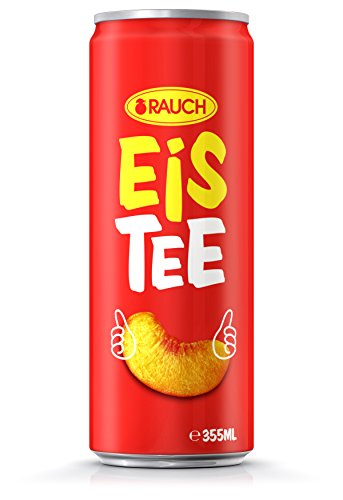 RAUCH Eistee Pfirsich, 24er Pack (24 x 355 ml)