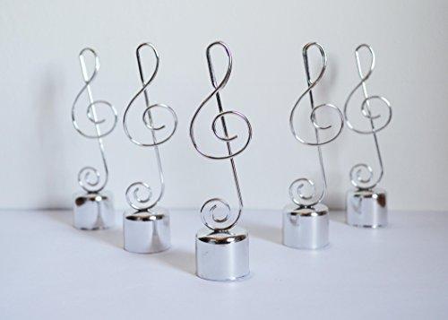 10-Gedecke-mit-Musik-Noten-Design-Hochzeit-Tisch-Dekoration