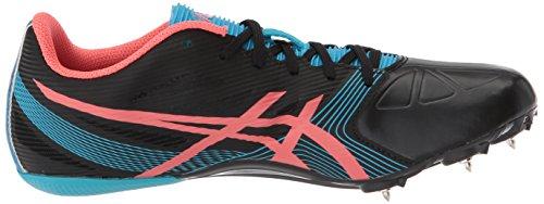 Asics Womens Hyper-Rocketgirl SP 6 Cross Country Spike Shoe Onyx/Diva Pink/Atomic Blue