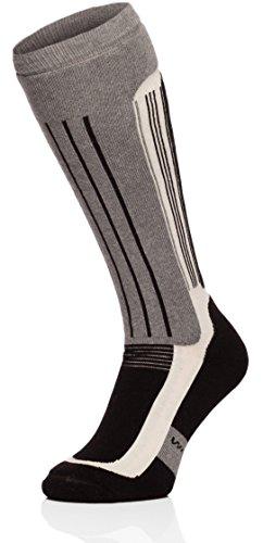 ladeheid-uomo-calzini-da-sci-calze-sportive-518v2-nero-melange-chiaro-41-43