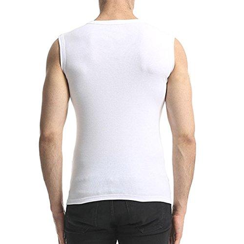 292878b8717d32 Unterhemden Herren Unterziehshirt V Ausschnitt