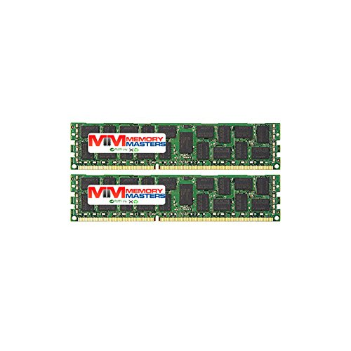 memorymasters für Cisco UCS Server Serie. DIMM DDR3ECC Registered PC3-8500/PC3-106001600MHz/1333MHz Quad Rank Arbeitsspeicher. 32GB KIT (2 x 16GB) (1066MHz) Quad Rank - Ecc, Registered Quad