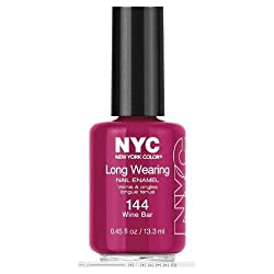 NYC Long Wearing Nail Enamel - Wine Bar
