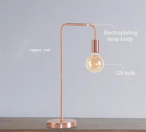 LUCKY CLOVER A Tischlampe Nordic Minimalist Eisen Kreative Energiesparlampe  Lesestudie Schlafzimmer