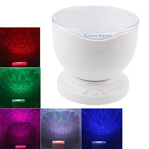 Gearmax® Lampada notturna a LED con proiettore