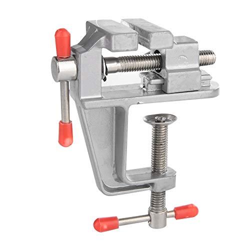 Mini Plain BenchClamp Schraubstock Univeral Tabelle Schmuck DIY Reparatur Werkzeuge für Handwerk, Modellbau, Elektronik, Schmuckherstellung