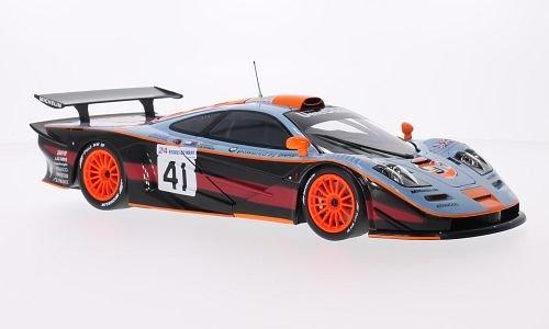 Preisvergleich Produktbild McLaren F1 GTR, No.41, Team Davidoff, Gulf, 24h Le Mans, 1997, Modellauto, Fertigmodell, Minichamps 1:18