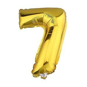 yl folienballon in zahlenform goldfarbig die nummer 7 5 32 k che haushalt. Black Bedroom Furniture Sets. Home Design Ideas