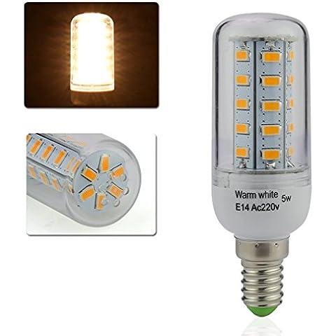 2Jahre Garantie Auralum® 1 x 5W/8W E14 350LM Warmweiß LED Mais Licht Leuchtmittel & Birne(5W