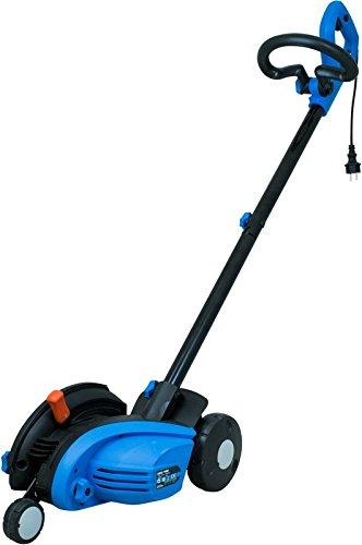 GUDE GRKS 1400Brush Cutter AC Schwarz, Blau–Rasenmäher (Brush Cutter, Klingen drehbar, 1,3cm, 3,8cm, 3Reifen (S), 4700RPM)