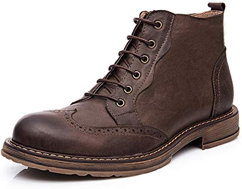 Hombre Montacute Lord Botines Brogues Zapatos De Piel De Chukka Martin Boots