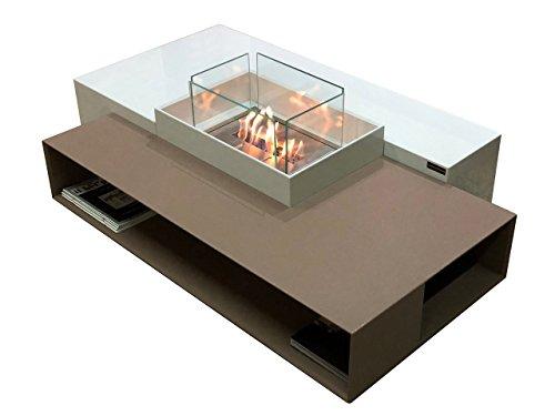Mesa auxiliar moderna de bioetanol / biochimenea / chimenea de bioetanol /...