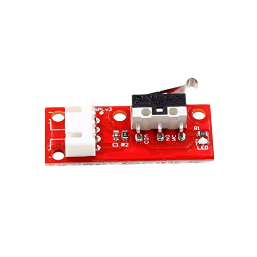 RAMPS 1.4 Optische Endschalter Sensor Modul Lichtsteuerung Limit Board mit Kabel 3D Drucker Teile CNC Arduino Electronic (rot) -