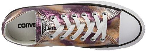 Converse Ctas Ox Dusk Pink/White/Black, Sneaker Unisex-Adulto Mehrfarbig (Dusk Pink)