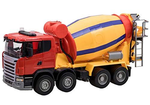 BSD Spielzeug Fahrzeug Spielzeugauto Modellauto Groß Betonmischer-LKW Fahrmischer für Kinder (Spielzeug-betonmischer Für Jungen)