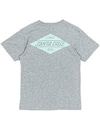 Santa Cruz T-Shirt: Voltage Colour Asphalt GR