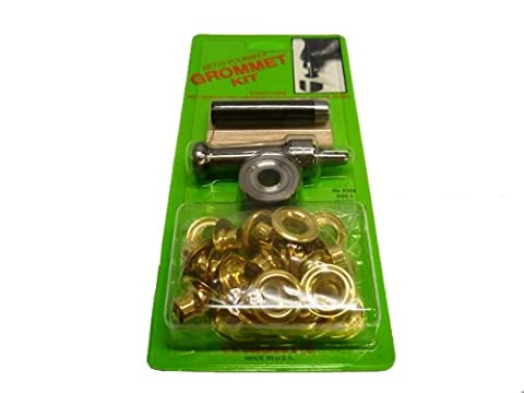 Set-It-Yourself Brass Eyelet Kit - Size 4 - 13mm inside diameter