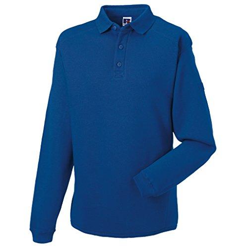 MAKZ Herren Poloshirt Blau - Helles Königsblau