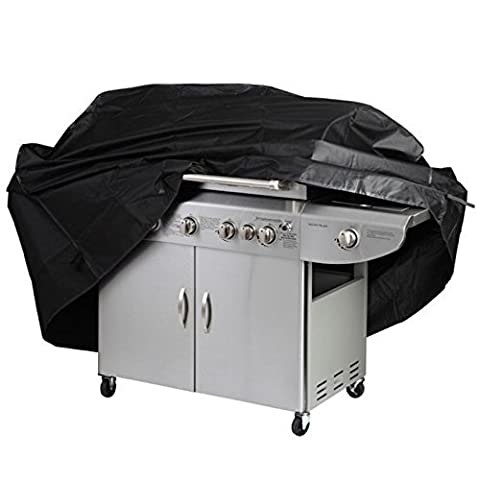 Barbecue Cover Big Fitted Outdoor Waterproof Rain Proof BBQ Grill Covers Garden Patio Grill Protection (Cucina All'aperto Bbq Accessori Grill)