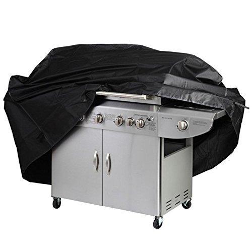 Barbecue copertina, Big Equipaggiata esterna impermeabile Heavy Duty Griglia per barbecue Cover Garden Patio Grill di protezione con elastico Hem / Coating( S)
